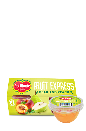 Fruit Express Peach and Pear