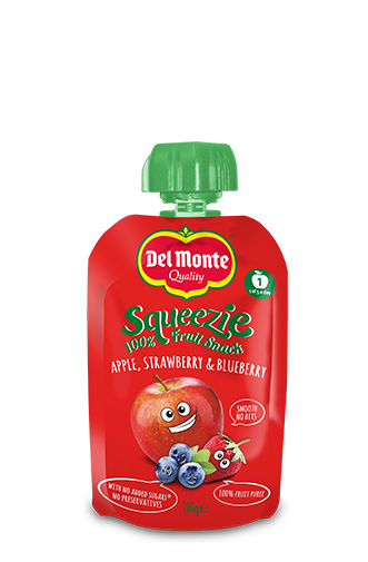 Squeezie Apple Strawberry Blueberry