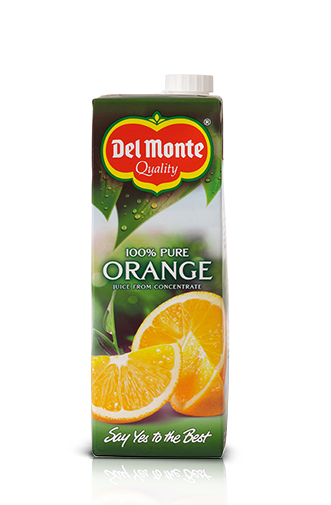 1L 100% Pure Orange Juice