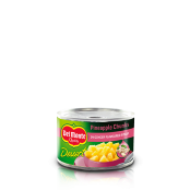 Del Monte Europe Pineapple Chunks in Ginger Flavoured Syrup