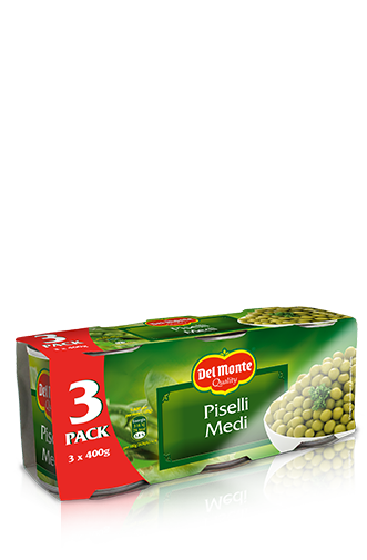Del Monte Europe Green Peas Medium