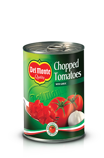Del Monte Europe Chopped Tomatoes with Garlic